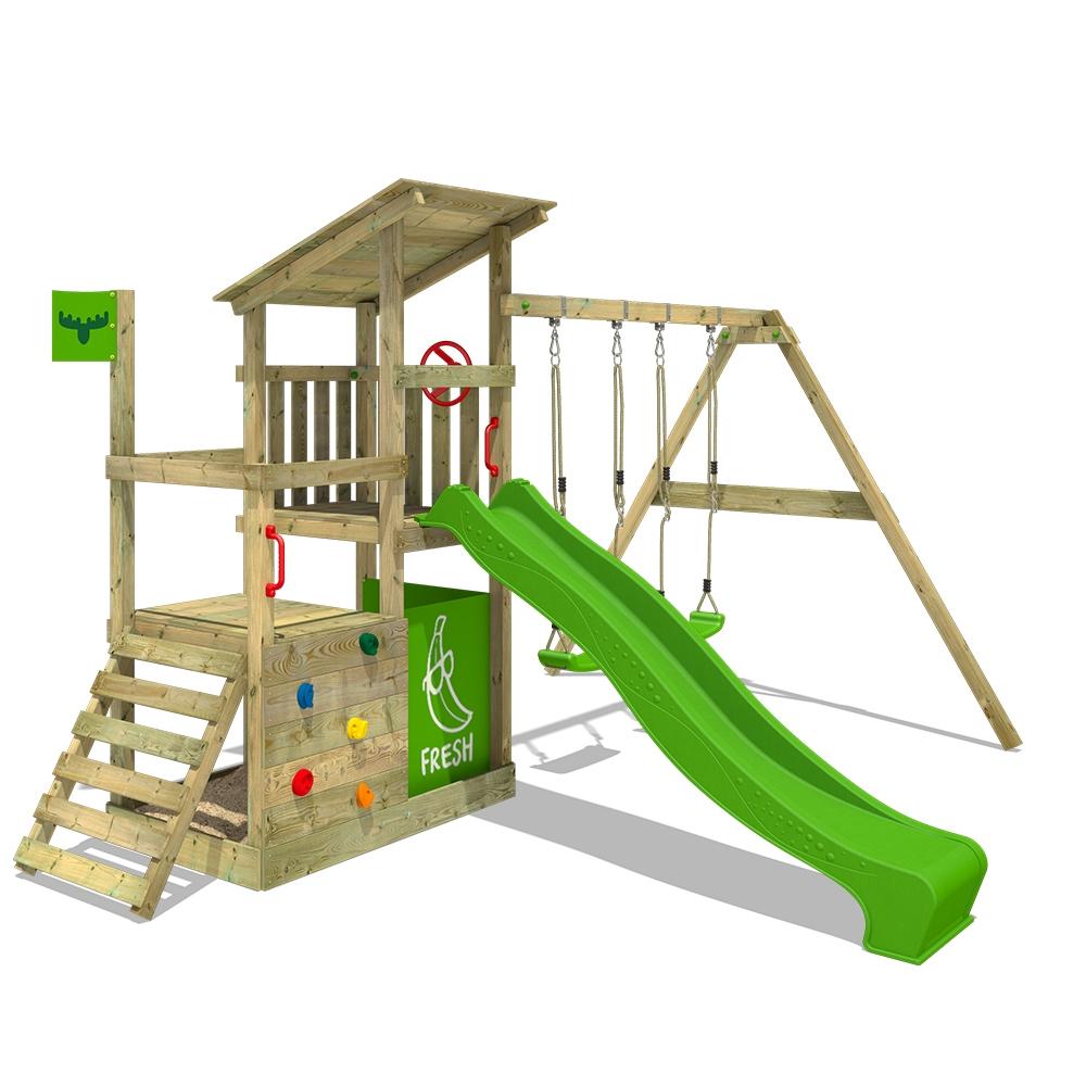 Image of Fatmoose Childrens climbing frame FruityForest Fun XXL