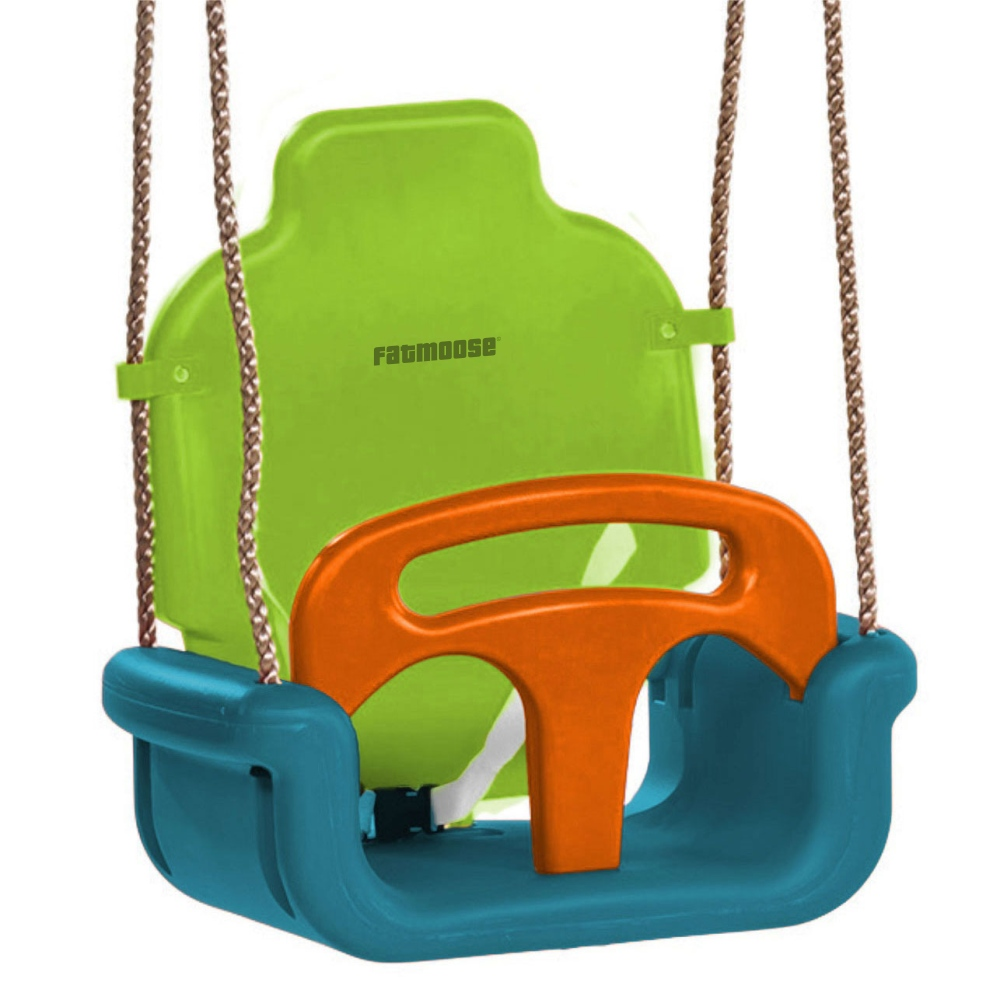 Image of Fatmoose Baby Swing 3 in 1 children's swing Triple Cruiser XXL